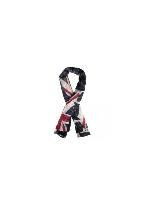 Foulard drapeau anglais noir
