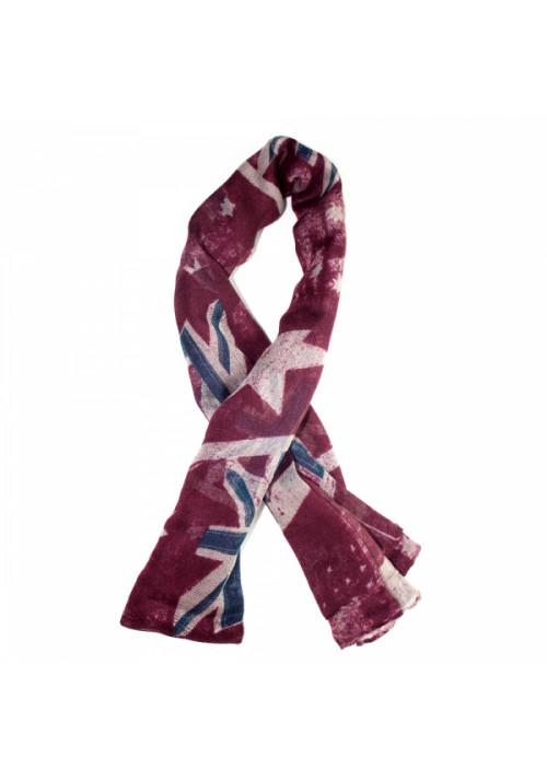 Foulard drapeau anglais rouge