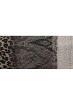 Foulard femme léopard et strass